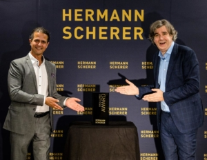Markus Klimesch & Hermann Scherer - Verleih des Excellence Award