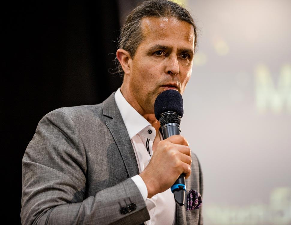 Markus Klimesch als Speaker